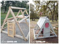 cute chicken coop! Cowgirl Up #53 with Southern Revivals - Cedar Hill Farmhouse