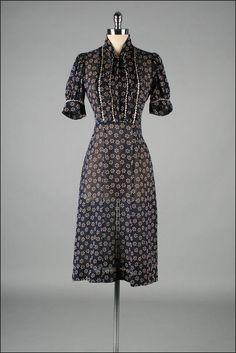 vintage 1940's dress | mill street vintage