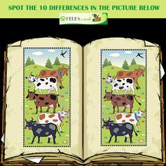 Spot the 10 differences!