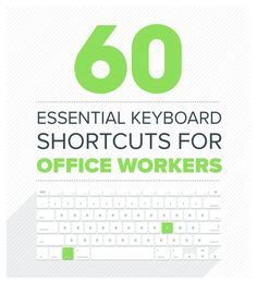 60 Essential Keyboard Shortcuts To Boost Your Productivity