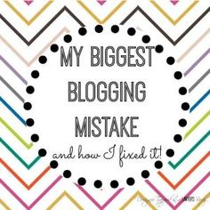 My Biggest Blogging Mistake {and how I fixed it}! - How to move from Blogger to Wordpress (July 2014) #blogging #wordpress #blogger by chasity