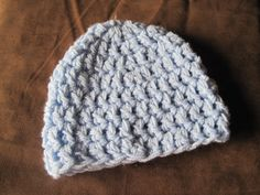 Chunky Baby Beanie ONLY  FT009 by FischTales on Etsy