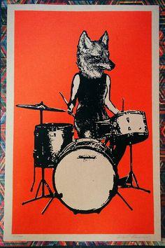 Slingerland Fox Drummer