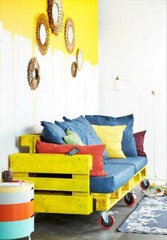 Top 104 Unique DIY Pallet Sofa Ideas   101 Pallet Ideas - Part 2