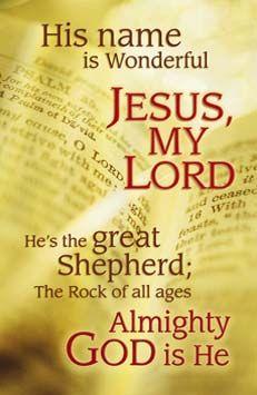 Jesus Rocks! Aline