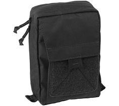 Helikon-Tex Urban Admin Pouch - 1 L (Black) Waist Pouch, Belt Pouch, Army Online, Tactical Pouches, Velcro Patches, Urban, Backpacks, Shoulder Bag, Zipper