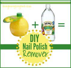 diy nail polish remover #allnatural #beauty