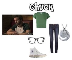 """""""Chuck"""" by artemis-moonlight on Polyvore featuring Tory Burch, RE/DONE, Spitfire and Converse"""