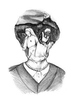 Illustration for the World War I Centenary on Behance by Nadia Fernandes
