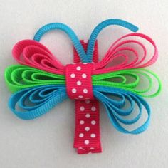 dragonfly hair bow - Google Search
