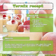 Gyümölcs és zöld turmix receptek minden mennyiségben
