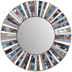 Stained Glass Mosaic Mirror por MIRRORMONTAGES en Etsy