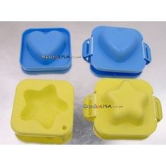Japanese Bento Accessories Egg Mold Star Heart for Bento Decoration