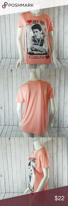⬇$29 Sixteen Candles Pink Tee Large NWT Sixteen Candles Pink Tee New with tags Large Sixteen Candles Tops Tees - Short Sleeve