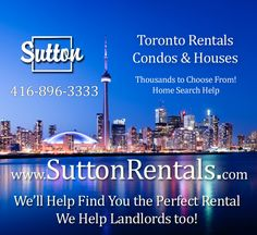 Landlords Do You Have A Home Or Condo To Rent In The GTA? Condos For Rent, Condos For Sale, Toronto Rentals, Being A Landlord, Gta, Home, House, Homes, Haus