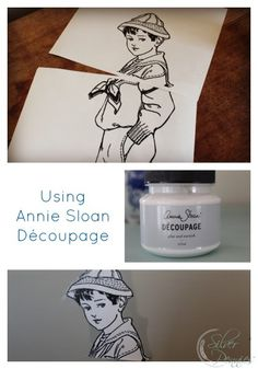 How to use Annie Sloan Decoupage.