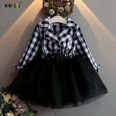 Black Tutu Dress Checkered Dress for Toddler Girls Fashion Dress Cowgirl Dresses, Girls Tutu Dresses, Tutus For Girls, Toddler Girl Dresses, Cowgirl Tutu, Toddler Skirt, Toddler Girl Style, Toddler Girls, Infant Girls