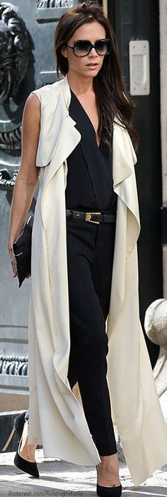 Chic In The City~ #Victoria Beckham #LadyLuxuryDesigns
