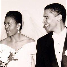 Barack & Michel Obama