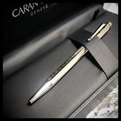 Caran d'Ache . With its traditional hexagonal design ensuring exceptional robustness, the Ecridor Chevron is a timeless luxury item with remarkable comfort and durability attributes.