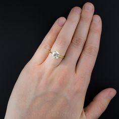 2.49 Carat European-Cut Diamond Solitaire - 10-1-7326 - Lang Antiques