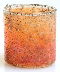 Loving this Copper Luster Votive Holder on Glass Votive Candle Holders, Votive Candles, Glass Vase, Mercury Glass, Luster, Copper, Condo, Bathroom, Decor