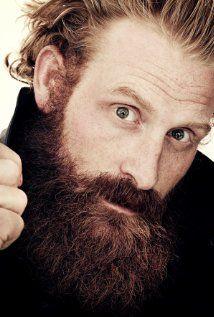 kristofer Hivju- I can not explain how much I love this ginger beard!