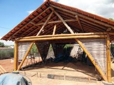 ผลการค้นหารูปภาพสำหรับ bioconstrução estrutura de bambu