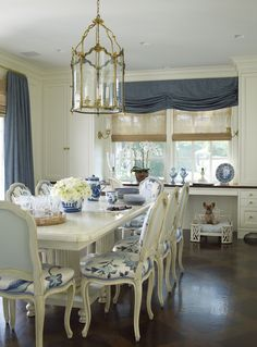 Old World Opulence - check out the sweet  little dog in the back of the room!