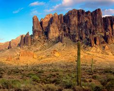 Bust out the map! We visit real locations mentioned in stories (Superstition Mountain image courtesy of Wikimedia Commons)
