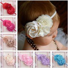 14Jul $2 Nt Kids Baby Girls Toddler Lace Flower Headband Hair Band Headwear Accessories
