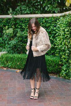 fringe dress :: parker