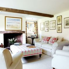 Living room | Step inside this idyllic Sussex farmhouse | housetohome.co.uk