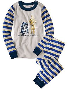 Kids Long Pajamas Star Wars