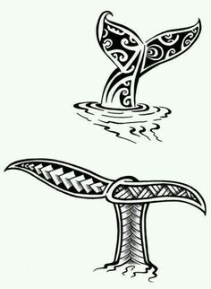Whale tail tattoos