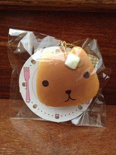 Rare Licensed Kapibarasan Pancake Squishy - Charms LOL