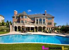 mansion mansion homes Free idea Dreamhouse Barbie, Huge Mansions, Luxury Mansions, Mansion Homes, Huge Houses, Luxury Homes Dream Houses, Dream Homes, Barbie Dream House, House Goals