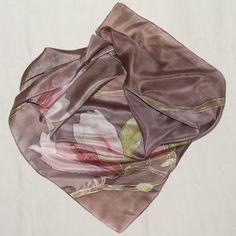 "Chusta ""Magnolie"" w SILVIAQUARIUS ART FOTOGRAFIA I RĘKODZIEŁO na DaWanda.com"