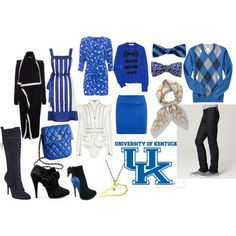 UK blue clothes for men and women
