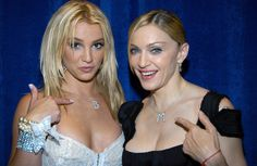 2003 - THE MTV VIDEO MUSIC AWARDS in New York City #britneyspears with #madonna