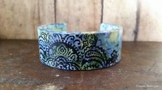 Upcycled PVC Cuff