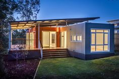 Prefab Shipping Container Homes, Container Houses Design, Building House From Shipping Containers Building A Container Home, Container Cabin, Container Buildings, Container Architecture, Container House Design, Cargo Container, Prefab Homes, Modular Homes, Home Modern