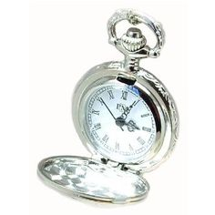 Philip Mercier Silver Tone Pocket Watch On 28 Chain Philip Mercier. $31.95