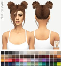 Miss Paraply: LEAHLILLITH NEVAEH: SOLIDS • Sims 4 Downloads