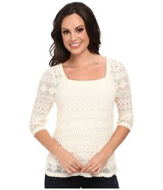 Lace Top Lucky Brand | 6pm.com