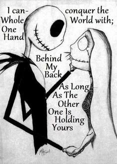 Nightmare before Christmas, need a canvas/wood print of this!