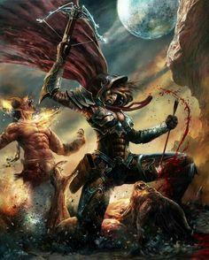 Valla cazadora de demonios