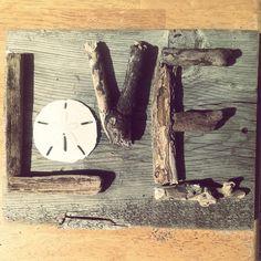 LOVE Driftwood Sign by TreasureJunkieTiff on Etsy