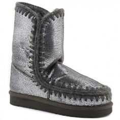 87962d243a6 Mou Eskimo 25 Limited Edition Boots Women Cracked Shiny Glitter Brown   winterboots  fashion