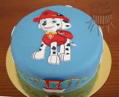 Paw Patrol Marshall cake. Tarta Marshall de la Patrulla Canina